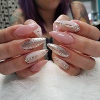 nail art designs | 2017 summer | stiletto | pink | acrylic ...