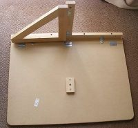 Norbo WALL-MOUNTED DROP-LEAF TABLE inner workings for DIY ...