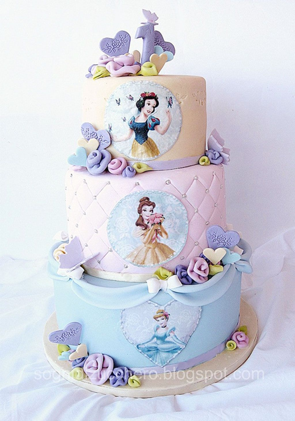 Disney Princess Birthday Cake Pictures Picture In Cakepins