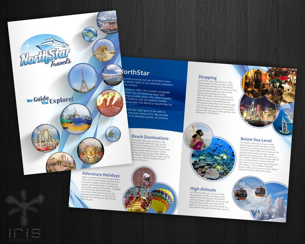 Brochure Design For A Travel Agency Promotionals