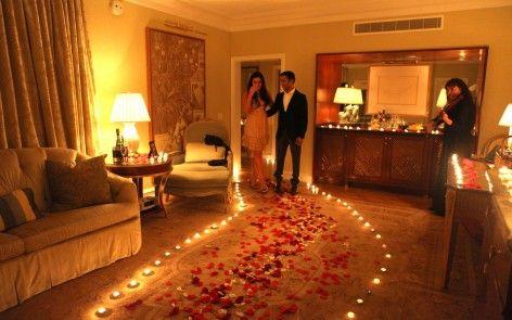 Blog Romantic Surprise Surprise Engagement And Room Setup
