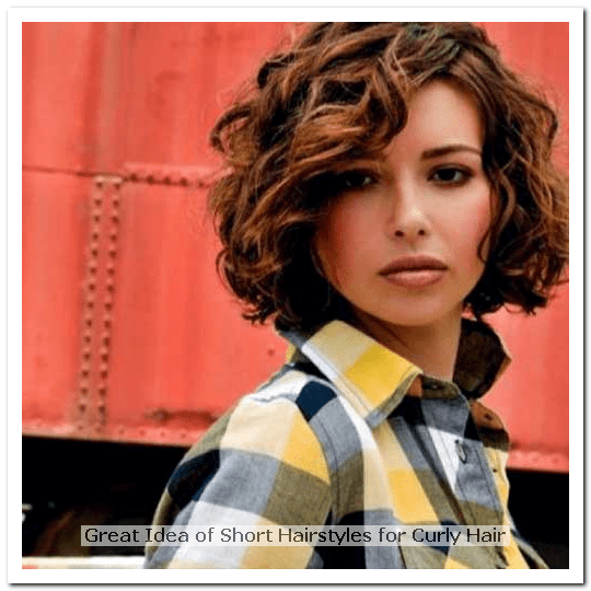 Short Hairstyles For Curly Hair Square Face Png 540