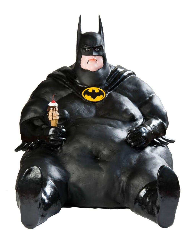 Fat Batman By Francesco De Molfetta  Skinny Batman