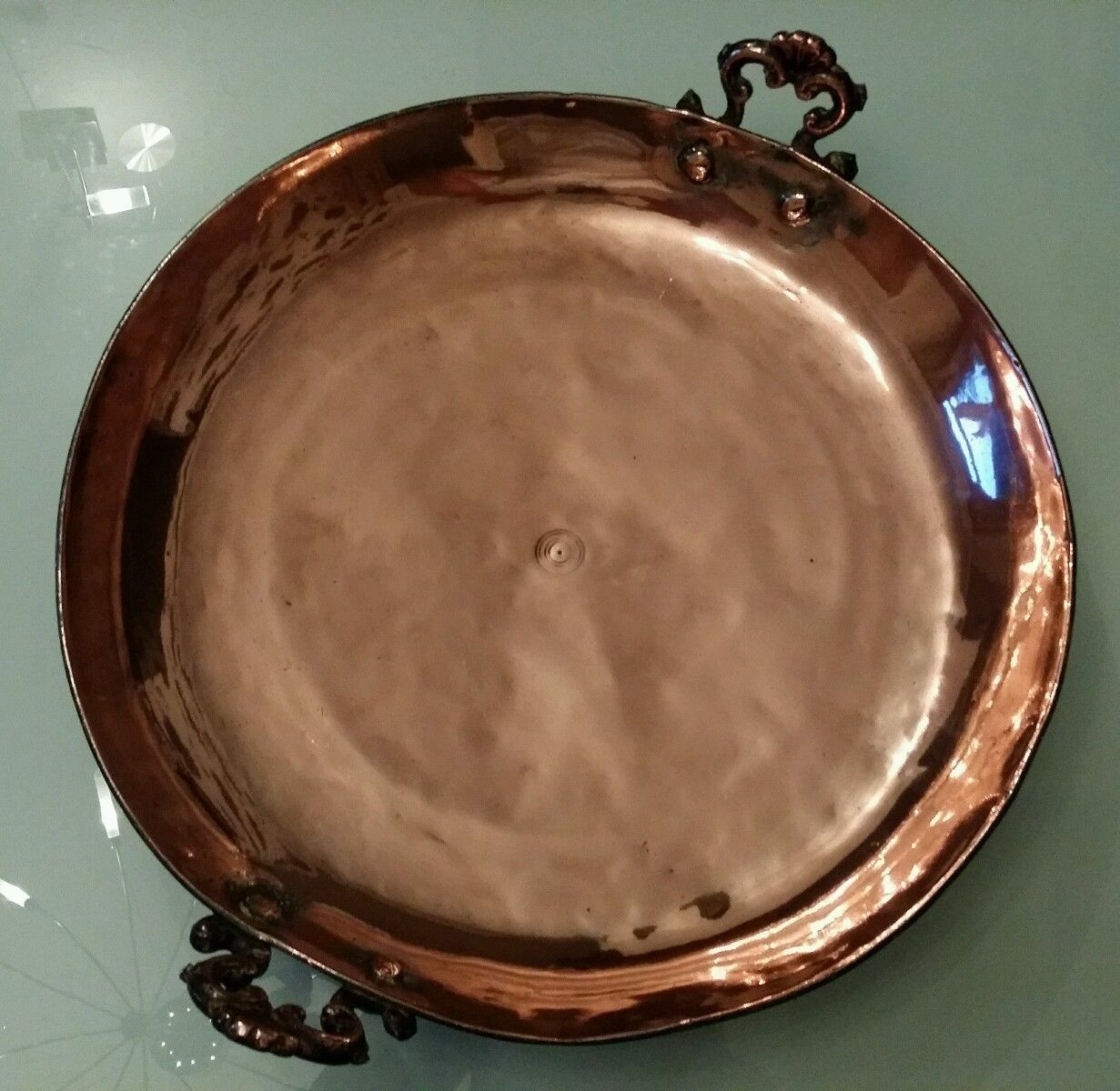 Antique Solid Copper Kitchen Pan Skillet  eBay  Creative