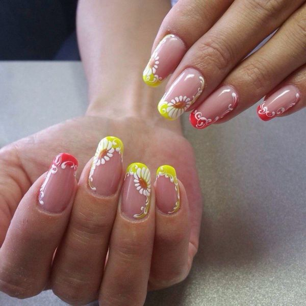 Summer French Manicure Nail Designs