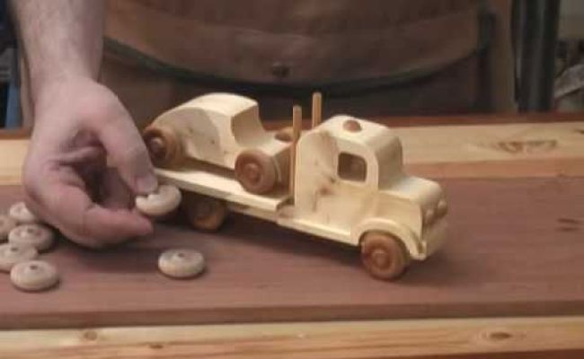 2x4 Toy Truck And Car Scroll Saw Project Youtube Tree