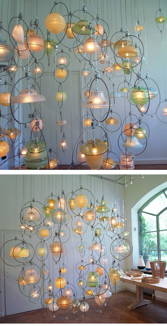 Amazing Upcycled Chandelier From Piet Hein Eek