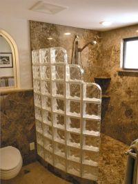 Glass Block Shower on Pinterest | Glass Blocks Wall, Glass ...