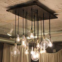 Edison Bulb Chandelier Totally Diy Able