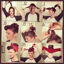 Bildergebnis Für 50s Hairstyles For Long Hair Tutorial Frisur