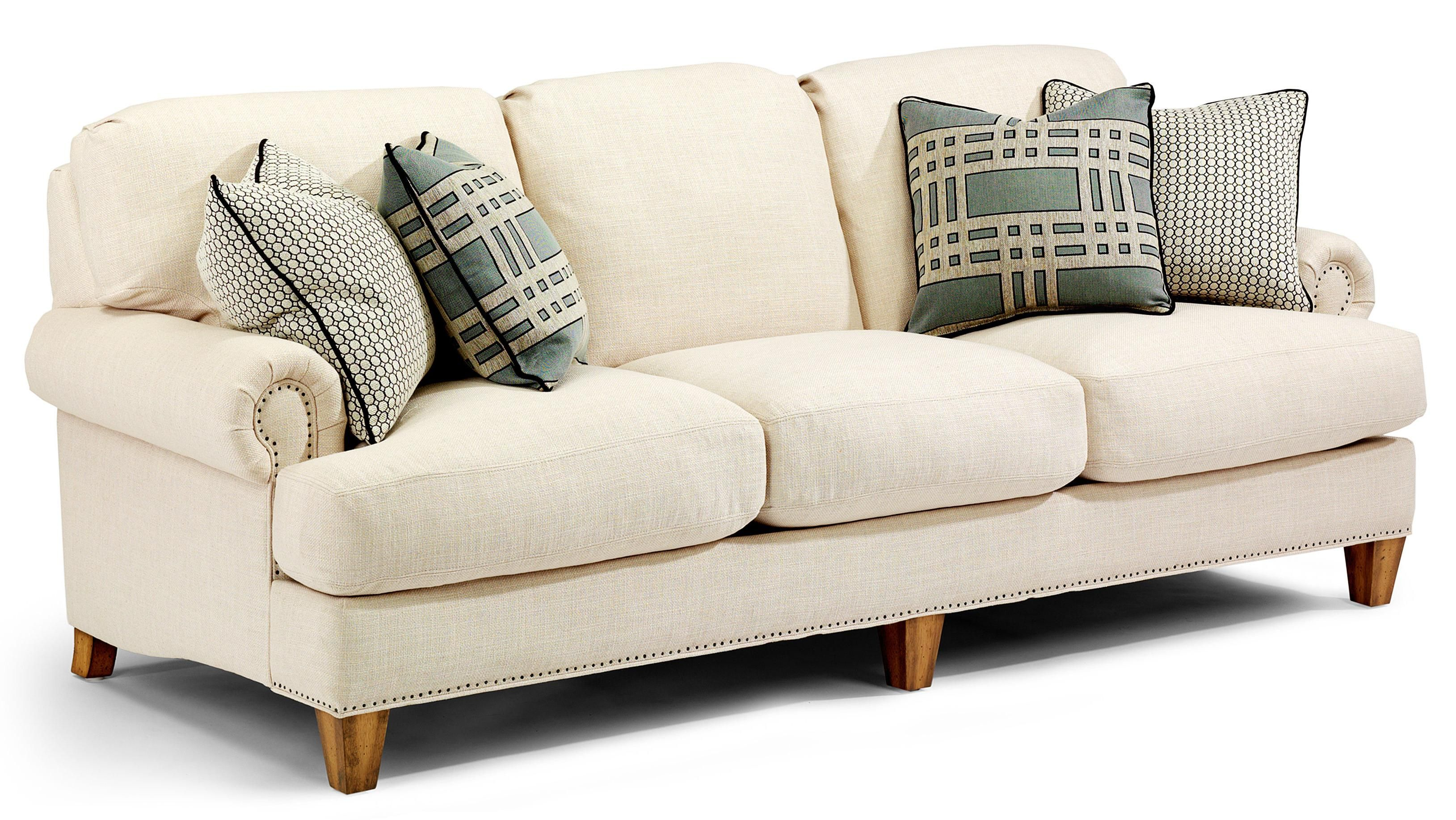 Luxury 3 Over 3 Sofa By Flexsteel