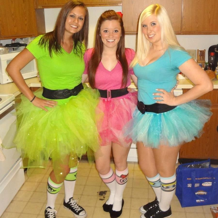 Powder Girls Puff Group Costumes
