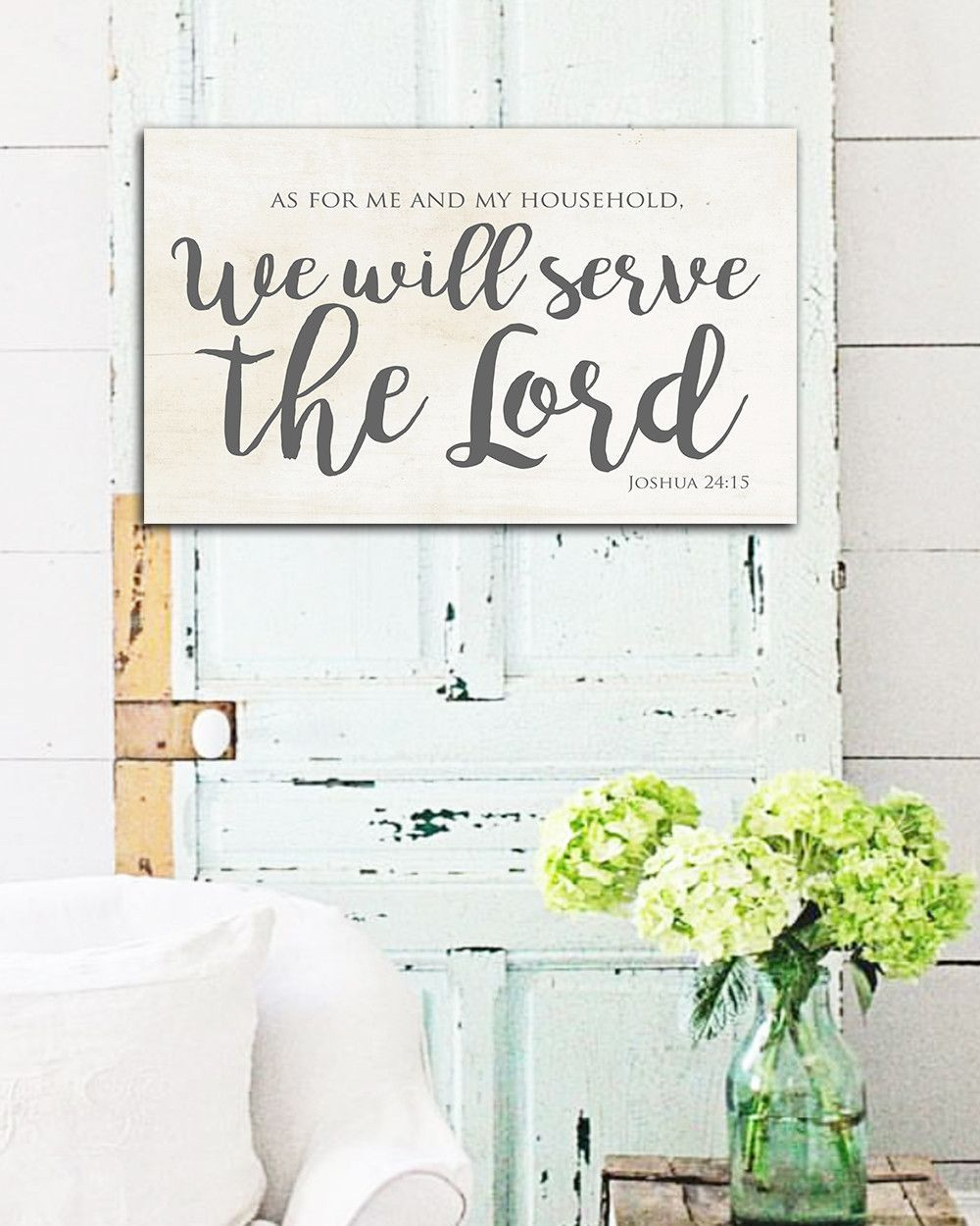 As for me and my house farmhouse sign home decor also what  beautiful name wall art products rh pinterest