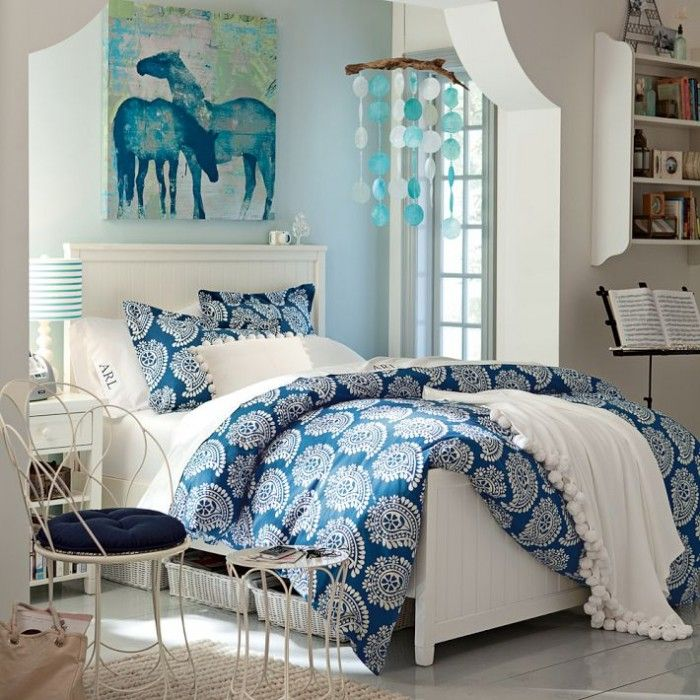 20 Of The Most Trendy Teen Bedroom Ideas  Colour pallete Bright colours and Blue bedrooms