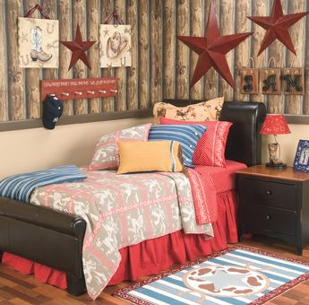 Western room Dream Home Pinterest Cowboy room