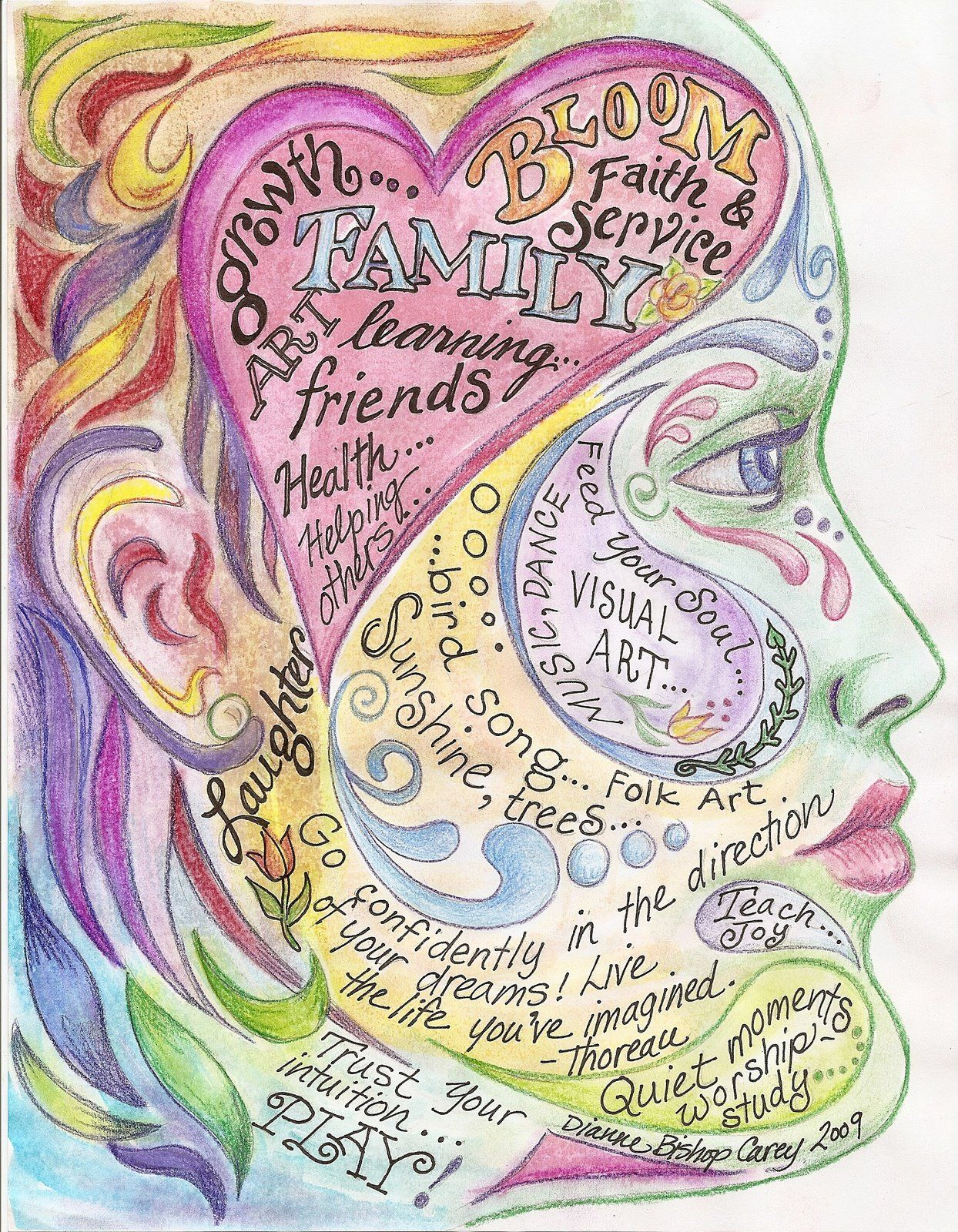 10 Art Therapy Ideas