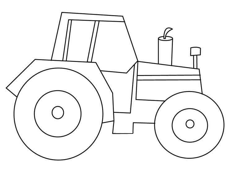 25 Best Tractor Coloring Pages To Print http://procoloring