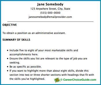 Sample Resume Heading Resume Writing Pinterest Sample Resume