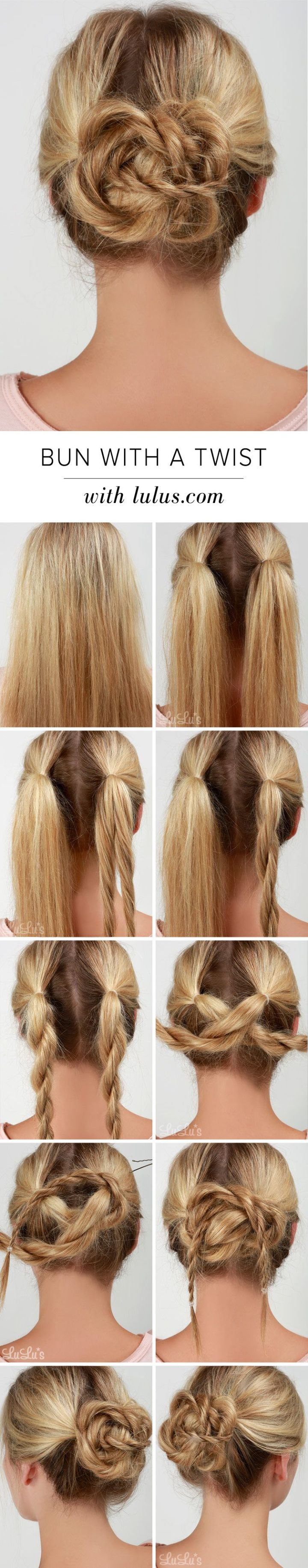 Inspirational Easy Bun Hairstyles – Hairstyle Ideas