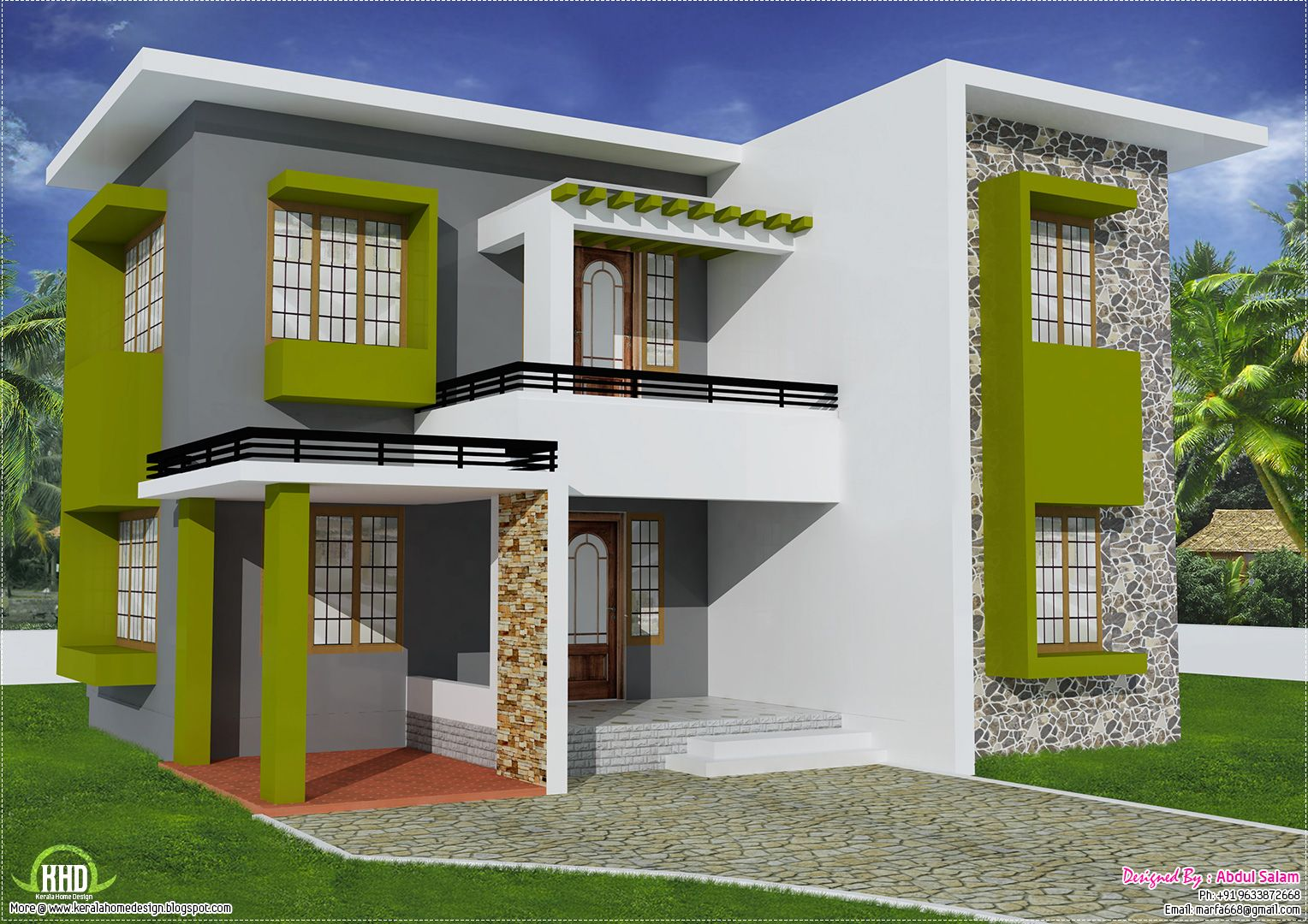 March House Design Plans Kerala Home Architecture Also Rh Pinterest