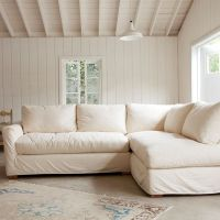 The Simple Sectional Sofa Down & Feather seat and back ...