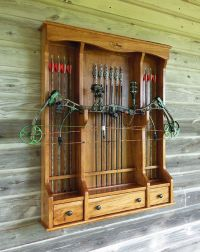 Bow Cabinet or Archery Cabinet | hunting | Pinterest ...