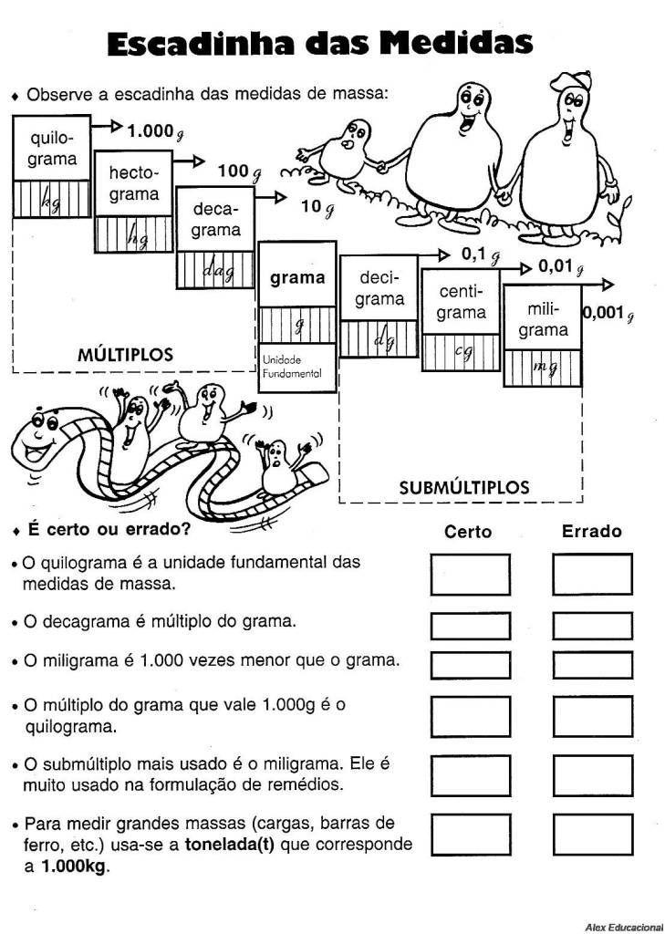 exercicios de matematica 2o ano para imprimir metro