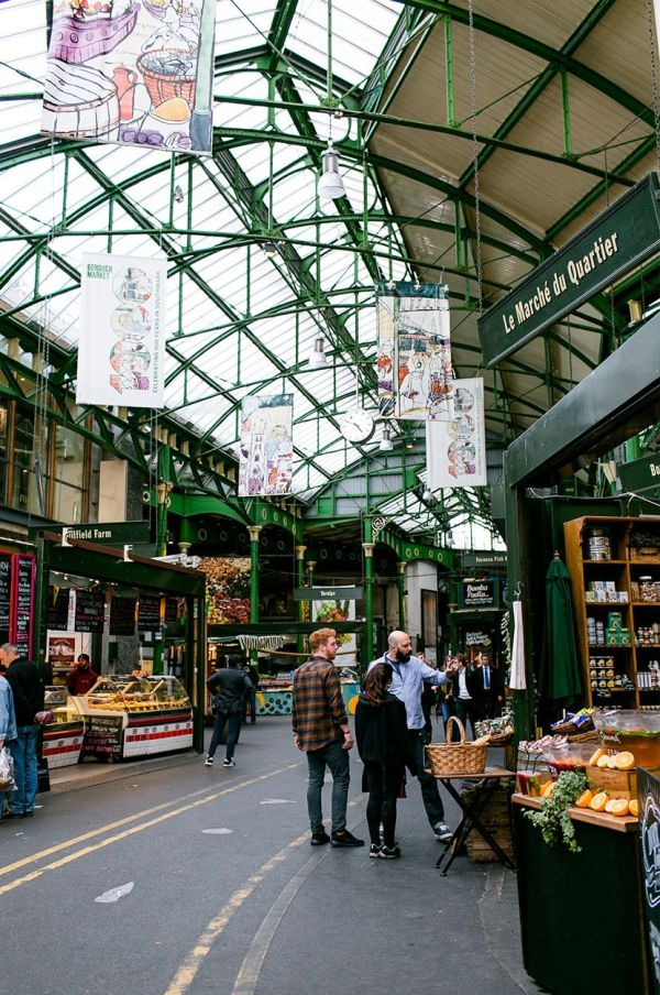 Borough Market 10 Days In London Fresh Exchange Stalls