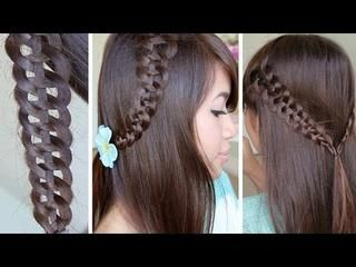 Cute Easy Hairstyle For School Style Girls Hair Video