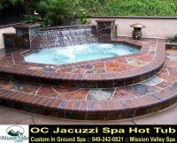 Backyard Design for Inground Hot Tub Spa - OC Jacuzzi Spa ...