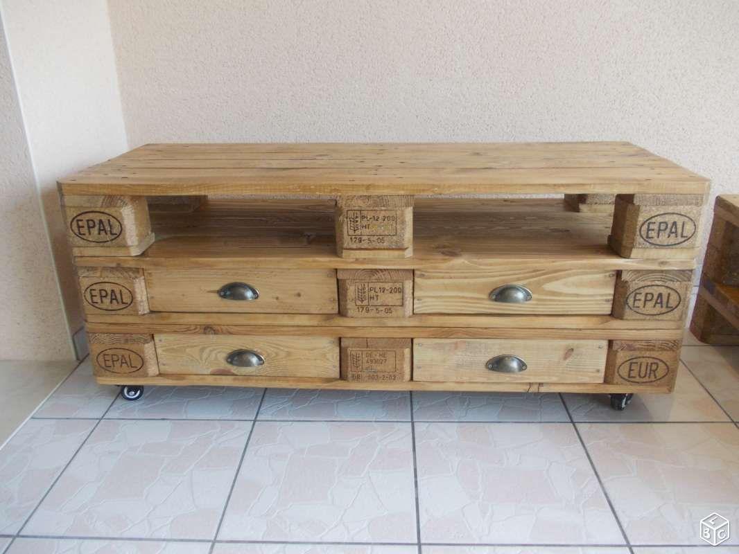 Meuble TV Et Table Basse En Palette Home Sweet Home