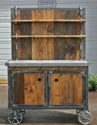 Image result for vintage outdoor portable bar cart