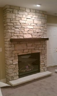 Lennox ELDV40 Gas Fireplace with Fond Du Lac Cambrian ...