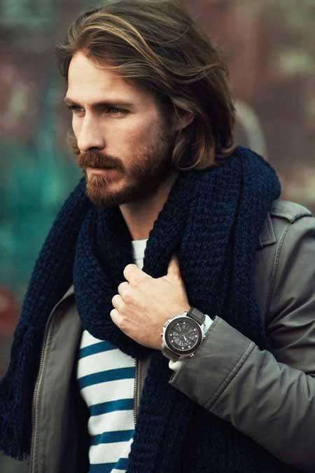 Mens Long Hairstyles Ideas For 2015 Long Hairstyles Long