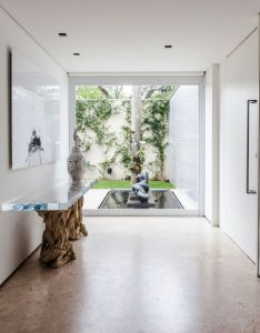 Located in the city of sao paulo this house was designed to  family with aim being place social meeting among collection art and design also an oasis relaxation ns residence brazil funiture rh za pinterest