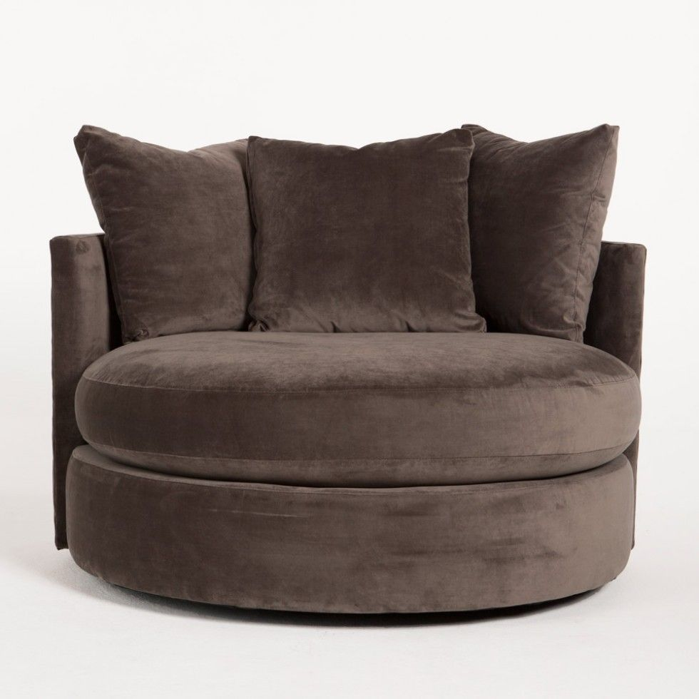 super comfy round swivel chair  For the Home  Pinterest