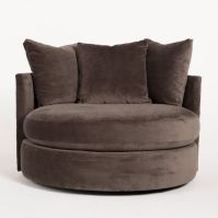 super comfy round swivel chair | For the Home | Pinterest ...