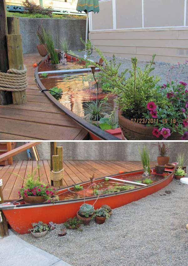 21 Small Garden Backyard Aquariums Ideas That Will Beautify Your