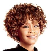 whitney houston curly hairstyles