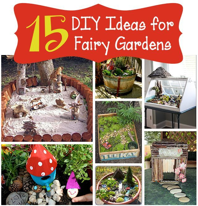 15 DIY Fairy Garden Ideas Mother's Home Best Decor And DIY