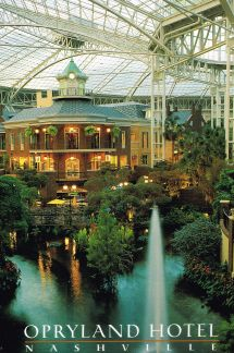 Postcards Opryland Hotel Nashville And Road Trips