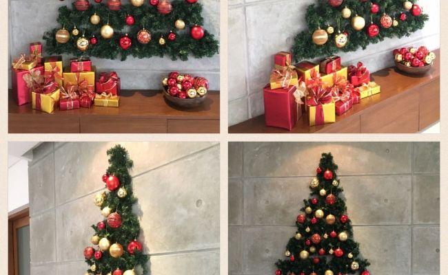 Flat Wall Christmas Tree Christmas Decor Pinterest