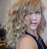 big curly hair 's play dress