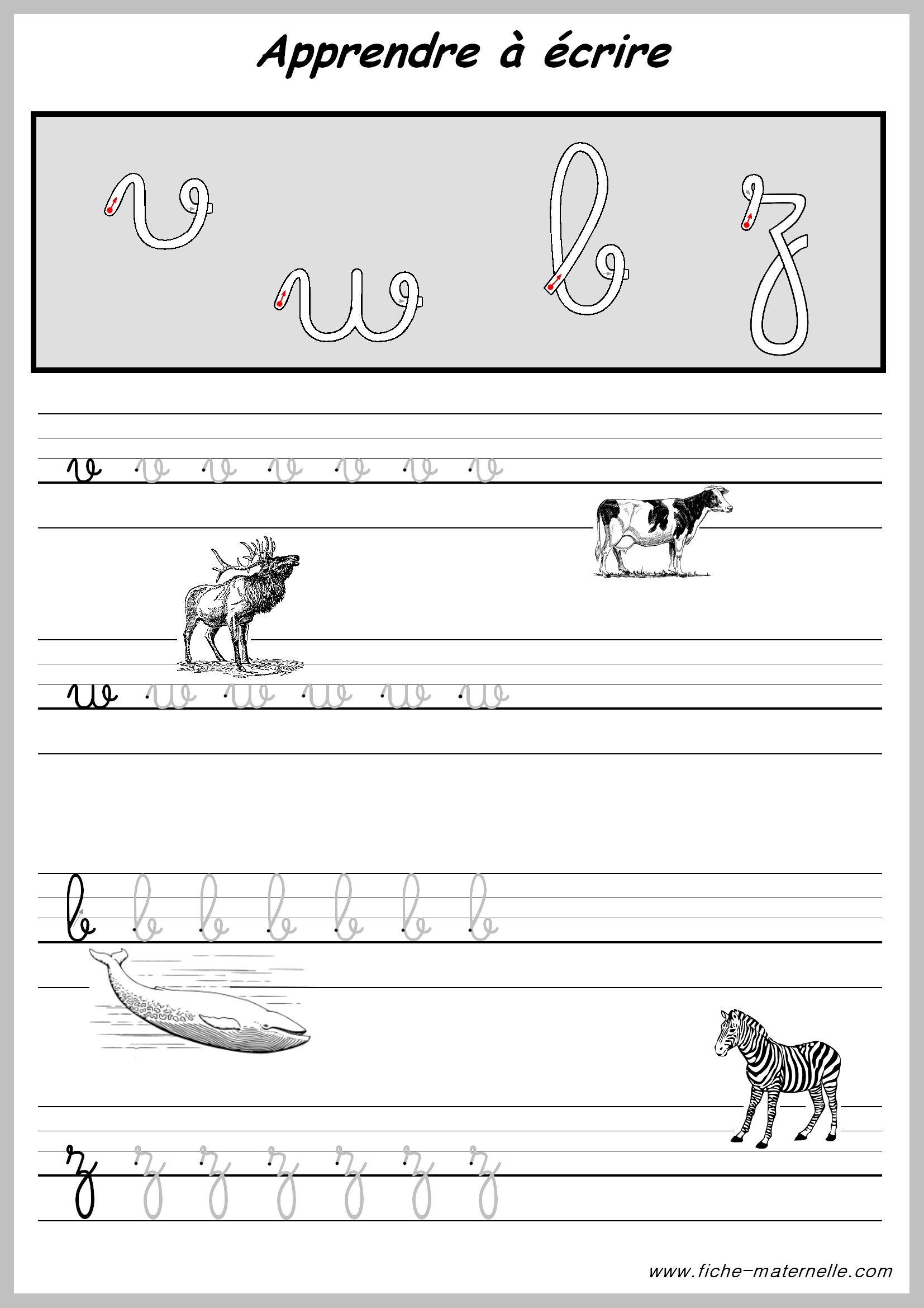 Exercices Pratiques Pour Apprendre A Ecrire