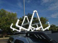 PVC Kayak Roof Rack/Carrier | Kayak roof rack and Crafty