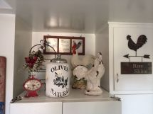 With Rooster Theme Kitchen