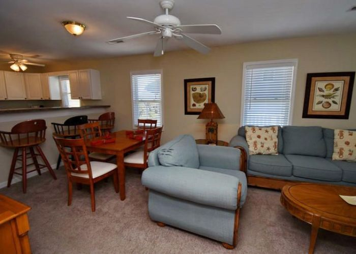 Relax in this cozy living room at two of  kind north myrtle beach sc duplex has bedrooms upstairs and downstairs rent just one fo  also