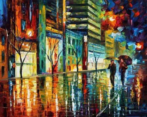 Leonid Afremov Painting Art