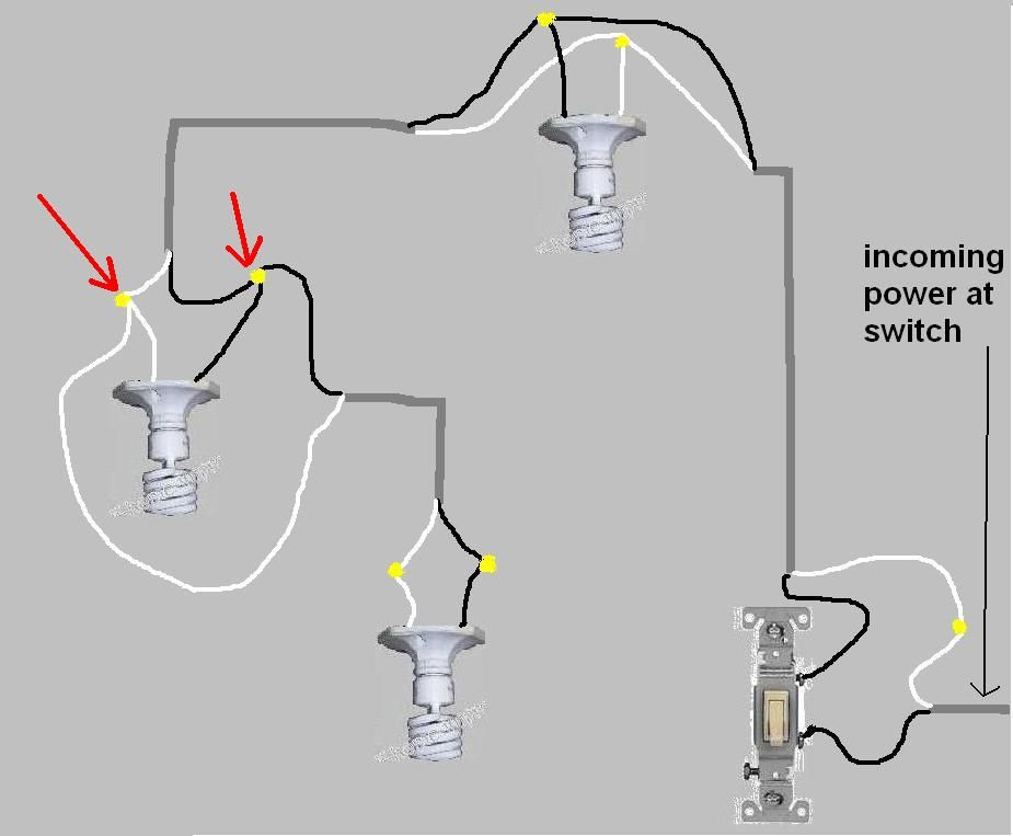 wiring a lamp with two sockets