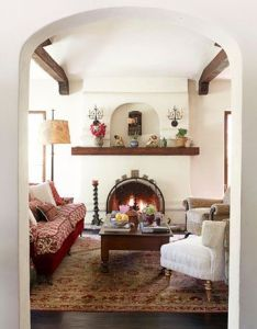 Makeover of  spanish style house also change spaces and rh pinterest